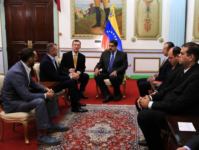 فينزويلا، إجتماع الحكومة الفينزويلية