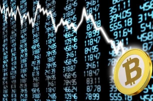 سقوط سوق العملات الرقمية