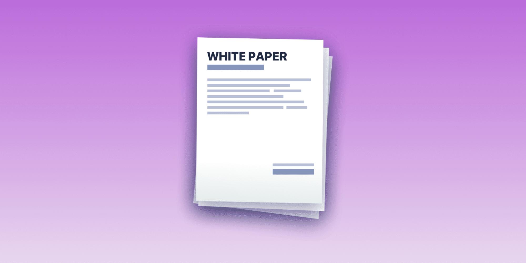 ما هي الورقة البيضاء او الوثيقة البيضاء في العملات المشفرة و البلوكشين
