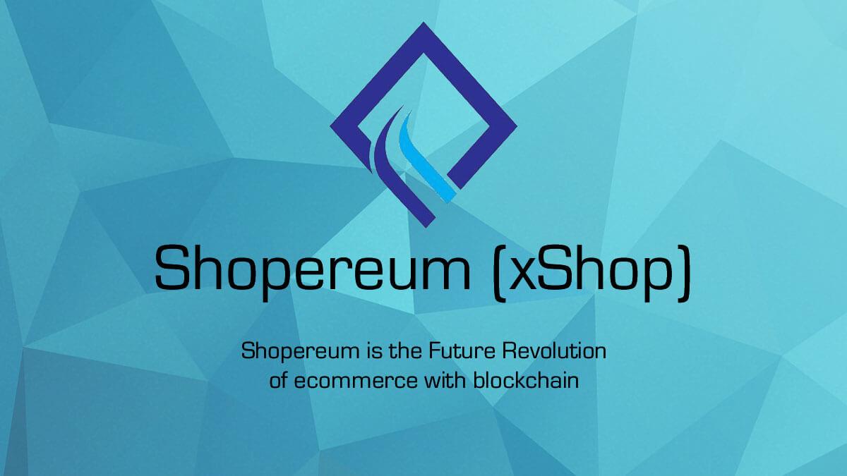 مشروع التجارة الإلكترونية Shopereum