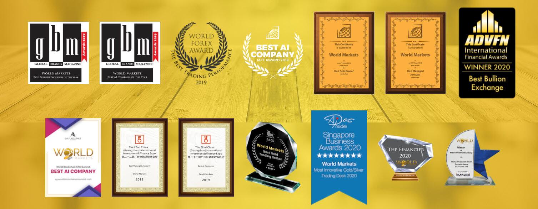 الجوائز المالية العالمية ل WORLD MARKETS