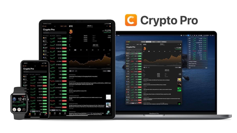 تطبيق Crypto Pro