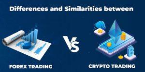شرح مبسط لتداول الفوركس وتداول العملات المشفرة