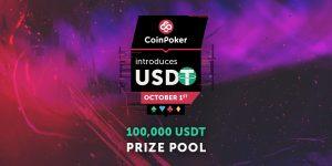 منصة البوكر عبر الإنترنت CoinPoker تدعم عملة USDT