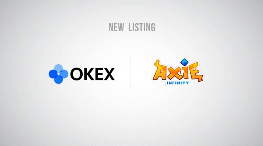 منصة OKEx أعلنت عن إدراج عملة AXS